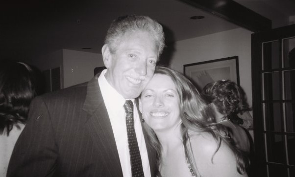 My dad, Fred Stagnaro, and I at my cousin Elizabeth's wedding in 2008.