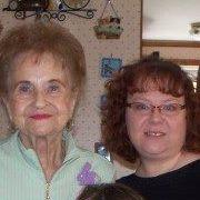 Melissa and Grandma Jarvis.
