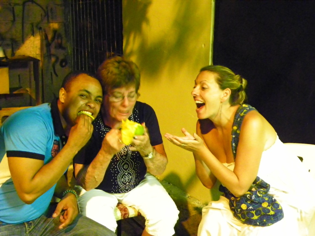 Frederica isn't the only one who likes to keep the mangoes for herself. Even my own mother won't share!