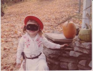 Even my Halloween costumes had skirts!